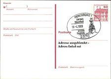 Ganzsachen Postkarte Schiff Sonderstempel RENDSBURG Stapellauf Fregatte Siegburg