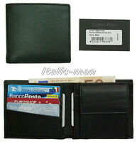 Portafoglio-Wallet uomo mini CALVIN KLEIN col: nero - mod. D02S07G2