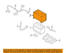 HYUNDAI OEM 11-14 Sonata 2.4L-L4 Battery-Box Cover Insulation 371123L350