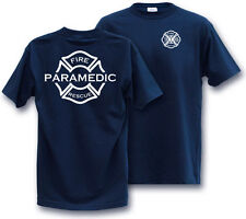 ** PARAMEDIC FIREFIGHTERS  XLARGE T-Shirt Fire RESCUE  XL **