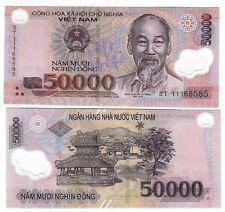 VIETNAM 50000 50.000 DONG POLYMER UNC 2011 P 121