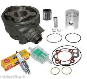Kit moteur joints piston cylindre Minarelli AM6 Aprilia Mbk Peugeot Yamaha 50 2t