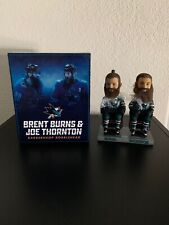 Brent Burns & Joe Thornton Barbershop Bobblehead San Jose Sharks SGA
