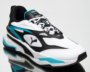 Puma RS-Fast Nano Men's White Black Lifestyle Athletic Sneakers Casual Shoes