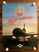 MCDONNELL DOUGLAS VINTAGE AVIATION 400th DC-10 EMPLOYEE US AIR FORCE USAF POSTER