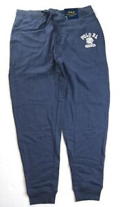 POLO RALPH LAUREN Men's Brushed Fleece Jogger Pajama Pants sz L NEW NWT