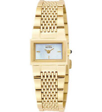 CITIZEN WOMEN'S WATCH GOLD TONE ECO-DRIVE MOTHER OF PEARL DIAL
