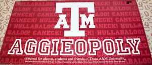 Texas A&M Aggieopoly Edition Board Game Replacement Parts & Pieces 2013 Monopoly