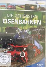 DVD Die schönsten Eisenbahnen - Dokumentation Züge