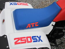 HONDA ATC 250sx seat cover blue ATC in red