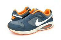 Nike Mens 10.5 Air Max Coliseum Running Shoes Blue 555423-401 Lace Up Low Top