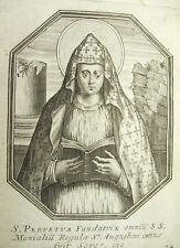 Sainte Perpétue Perpétua Michiel VAN LOCHOM XVIIe à Duchesse d'Aiguillon 1639