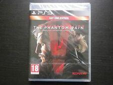 METAL GEAR SOLID V The Phantom Pain : JEU PLAYSTATION 3 PS3 (Konami NEUF suivi)