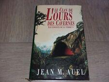 LES ENFANTS DE LA TERRE I LE CLAN DE L'OURS DES CAVERNES /  JEAN M. AUEL