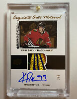2019-20 UD ICE Exquisite Auto Materials KIRBY DACH #3/5🎨 Five Colour Patch!