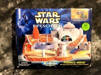 STAR WARS EPISODE 1 PODRACE ARENA MIB MICROMACHINES GALOOB 1998 JABBA BEEDO POD+