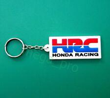 Honda HRC Racing Keychain Keyring Rubber Motorcycle bike Car Gift Free Shipping
