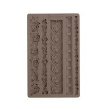 ELEGANT BORDERS - RE-DESIGN Prima Decor Moulds Molds Food Safe Resin #637163
