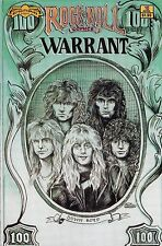 ROCK 'N ROLL COMICS NUMBER 10 APRIL 1990 WARRANT & WHITESNAKE BIOGRAPHIES