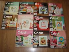 Cricut Magazines Lot # 2