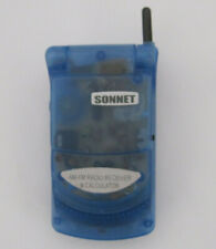 Sonnet AM/FM Radio Receiver & Calculator Flip Phone Style Tested and Working