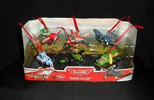 Disney Planes Christmas Holiday Ornaments 6pc Figure Set Gift Dusty Skipper Chug