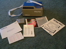 Vintage 1984 Vtech whiz kid pre - computer learning system sold as is for parts