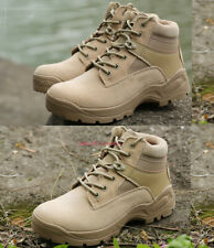 Mens Waterproof Army Tactical Boot Combat Work Boot Climbing SWAT Shoe