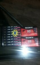TDK D-60 Blank Cassette Tapes 8 Pack High Output Type I Plus 2 Pack Sony Hf 90