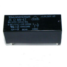 JS12MN-KT Relay SPST-NO,  8A 250Vac 24Vdc (Contact)  ,12VDC (Coil) Takamisawa