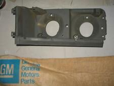 NOS 1976 CHEVROLET CAPRICE CLASSIC & ESTATE LH HEADLAMP HOUSING 377037 NEW GM !!
