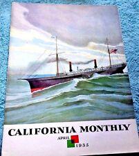 UC BERKELEY CAL MONTHLY A PAIUTE  PROPHET DIED IN NEVADA GHOST DANCES 1935