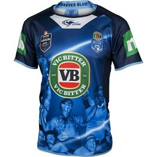 New South Wales Blues State Of Origin True Blue Captains Jersey Size S-XL! 6