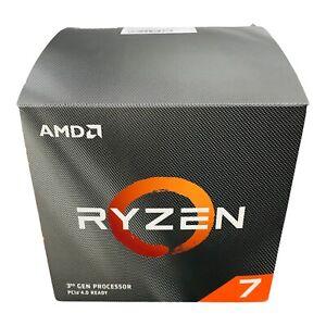 AMD Ryzen 7 3700x Fan Heatsink Cables Box No CPU New Open Box