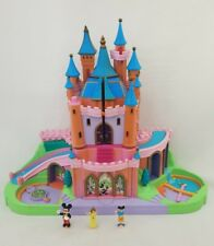 Vintage Polly Pocket Disney Magic Kingdom Castillo Con Figuras