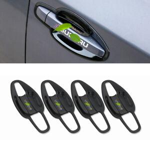 For Subaru outback 2015-19 Black titanium exterior side door bowl cover trim 8pc