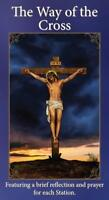 Catholic The Way of the Cross Holy Card Pamplet Prayers, Pack 25, 6 Inch