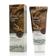 BROWN RICE FACIAL FOAM CLEASING FACE WASH SOFT MILD SOAP FOAMING CLEANSER 3.5 oz