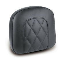 "Mustang Diamond Sissybar Pad, Rückenpolster, Schwarz 9x9,5"", f. Harley-Davidson"