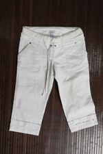 MIMI MATERNITY Womens WHITE Cropped Pants Size S SMALL
