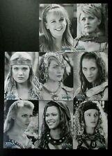 WX2-WX9 (no WX1) Women Of Xena Xena Warrior Princess Art & Images trading card