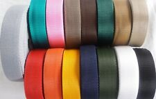 50mm PP Polypropylene Webbing Strapping Bags craft Straps Weave Nylon Tape