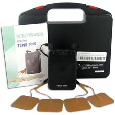 NEW TENS UNIT 3000 Analog UNIT with ELECTRODES PADS,COMPLETE-FREE fast SHIPPING