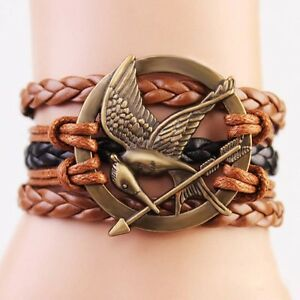 Friendship Bracelet Bird Fashion Leather Bracelet [7]