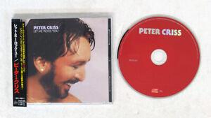 PETER CRISS LET ME ROCK YOU MERCURY PHCR 4463 JAPAN OBI 1CD