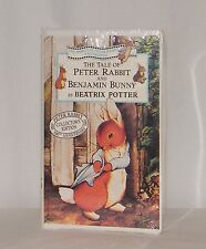 New The Tale of Peter Rabbit & Benjamin Bunny by Beatrix Potter on VHS