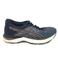 Asics Gel Flux 5 Running Shoes Womens Size 8 Blue White Sneakers T861N Athletic