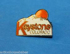 SKI PIN BADGE SKIING (KEYSTONE) COLORADO