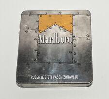 MARLBORO FIlter Cigarettes Tobbaco empty case tin box Croatian edition rare