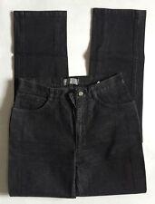 FENDI FENDISSIME REPUBLICA ITALIANA Black Stretch Straight Leg Jeans Sz 28